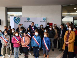 Inauguration du Centre Aquatique de Saint-Genis-Pouilly
